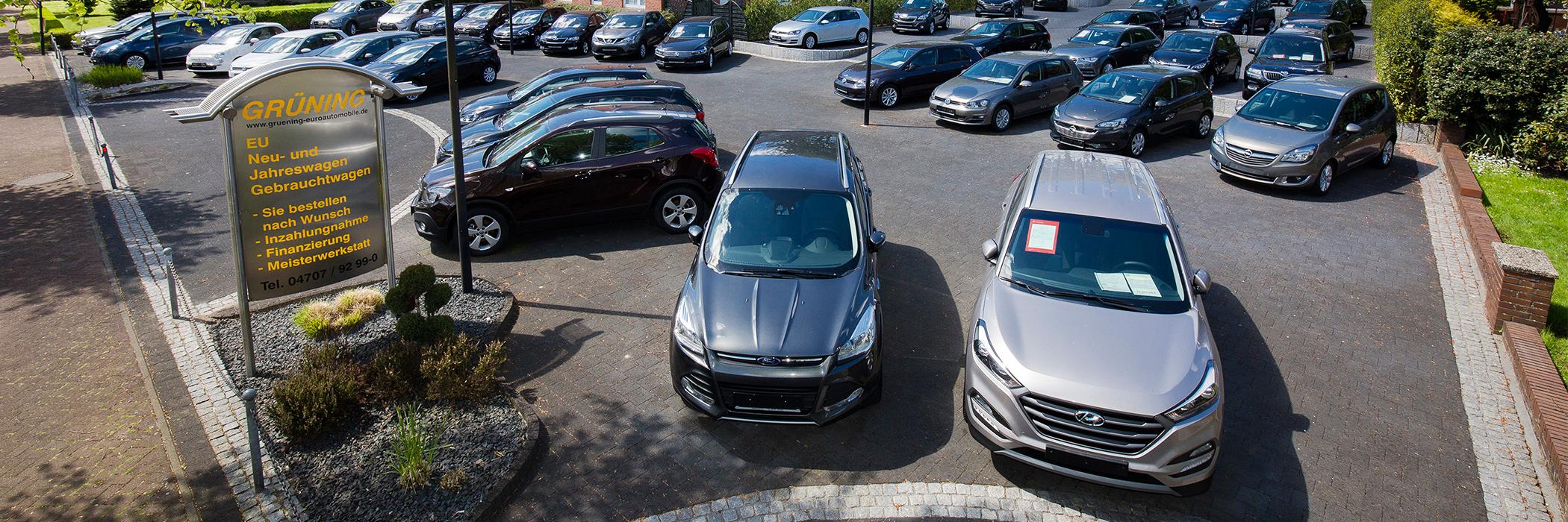 Grüning Automobile Autoverkauf Gebrauchtwagen Neuwagen
